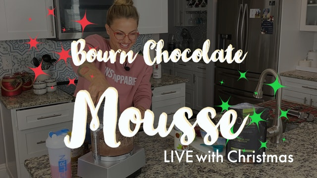 Chocolate Velvet Avocado Mousse LIVE - Guilt Free Indulgent