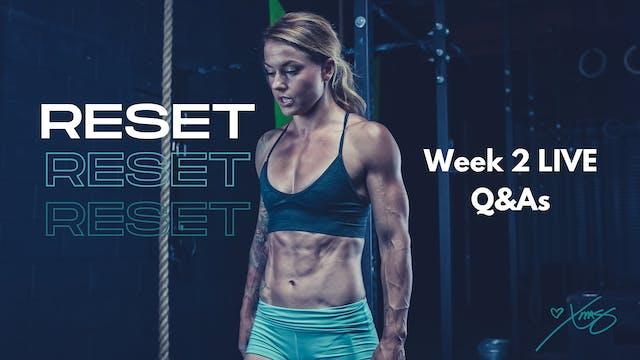 Week 2 LIVE- Q&A