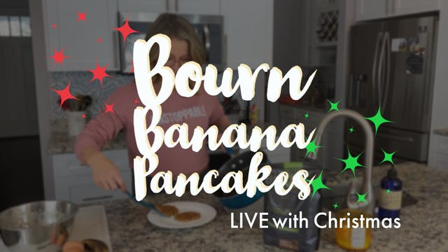Bourn Banana Egg Pancake LIVE
