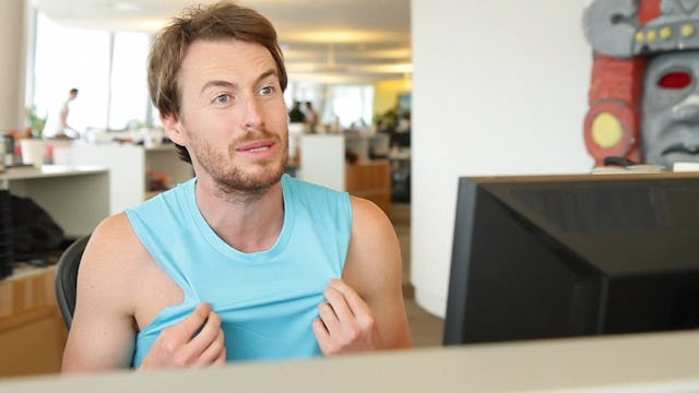 Jake and Amir | Muscle Tee