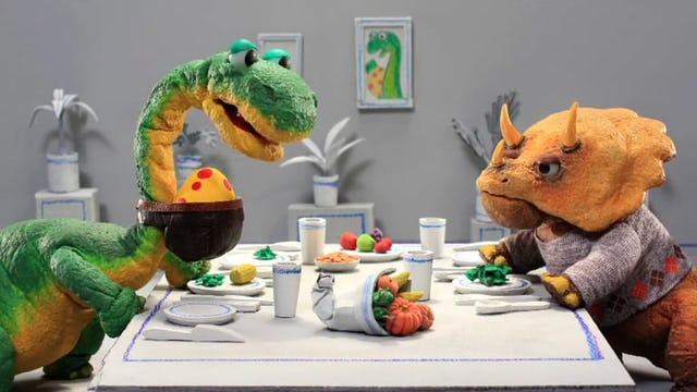 Dinosaur Office: Thanksgiving