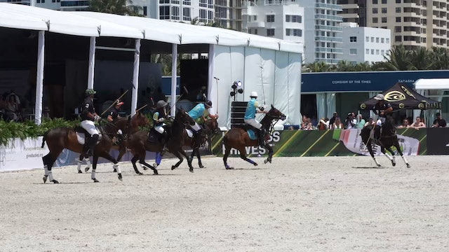 Peroni vs The Setai - Game 3 - Beach Polo - 2019
