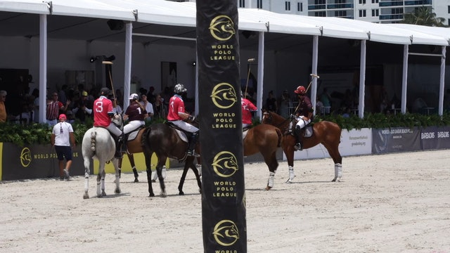 Flexjet vs Fiji Water - Game 4 - Beach Polo - 2019