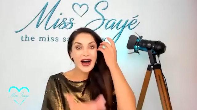 The Miss Sayé Show Episode 12: Kristine Carlson
