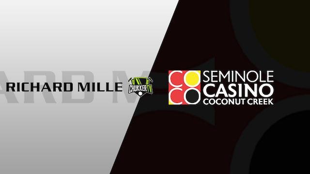 WPL Palm Beach Open - Richard Mille vs Seminole Casino Coconut Creek