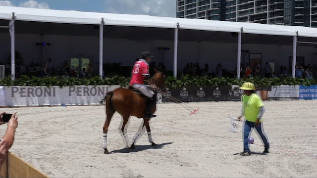Fiji Water vs The Setai - Game 6 - Beach Polo - 2019