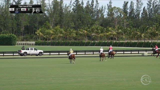 Colorado vs Alegria - Game 9 - Triple Crown of Polo - 2019 April 6th