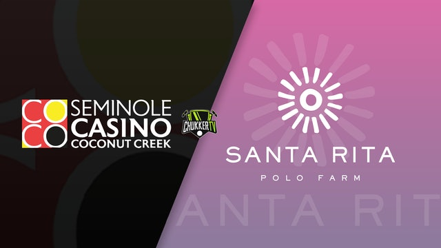 Seminole Casino Coconut Creek vs Santa Rita