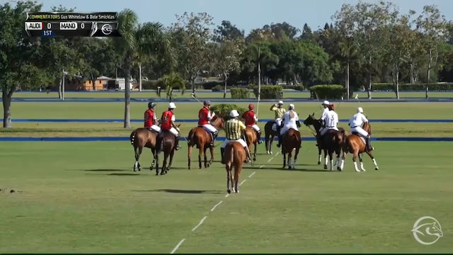 Mandarina vs Audi - Game 3 - Triple Crown of Polo - 2019 March 31st