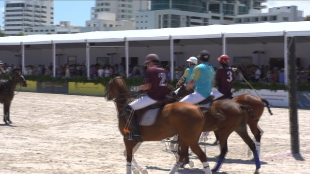 Flexjet vs Peroni - Game 7 - Beach Polo - 2019