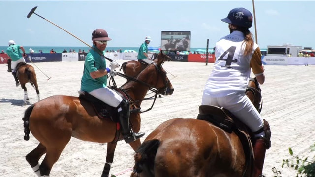 Give Back vs Polo Museum Hall of Fame - Game 11 - Beach Polo - 2019