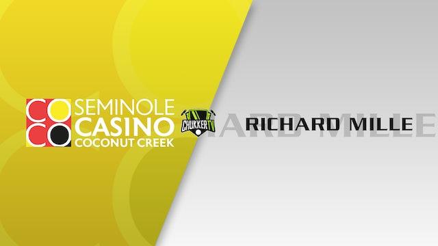 Richard Mille Vs. Seminole Casino Coconut Creek