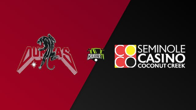 Dundas Vs. Seminole Casino - WPL All-...