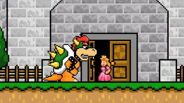 Super Mario Election: Bowser vs. Peach