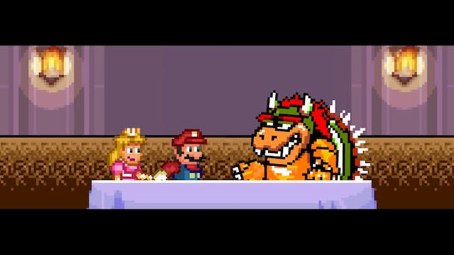 If Bowser Dated Mario AND Peach
