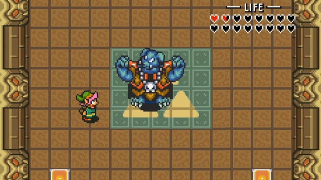 Link Finds Ganon's Weakness