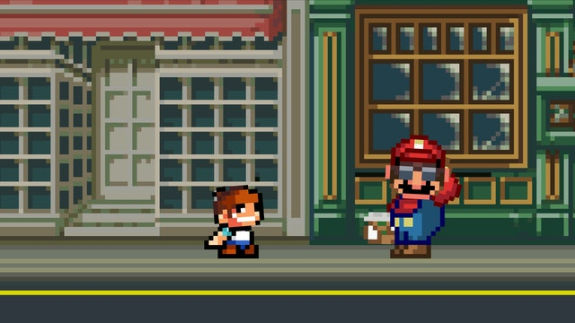 Mario Meets His Biggest Fan