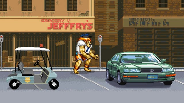 Street Fighter Meter Maid