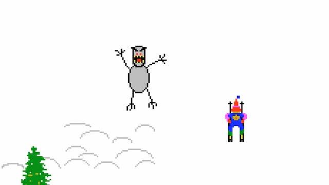 Ski Free Yeti Gets Desparate