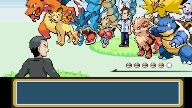 If Giovanni from Pokemon Had an Assistant