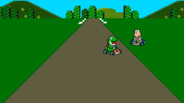 Mario Kart Crash