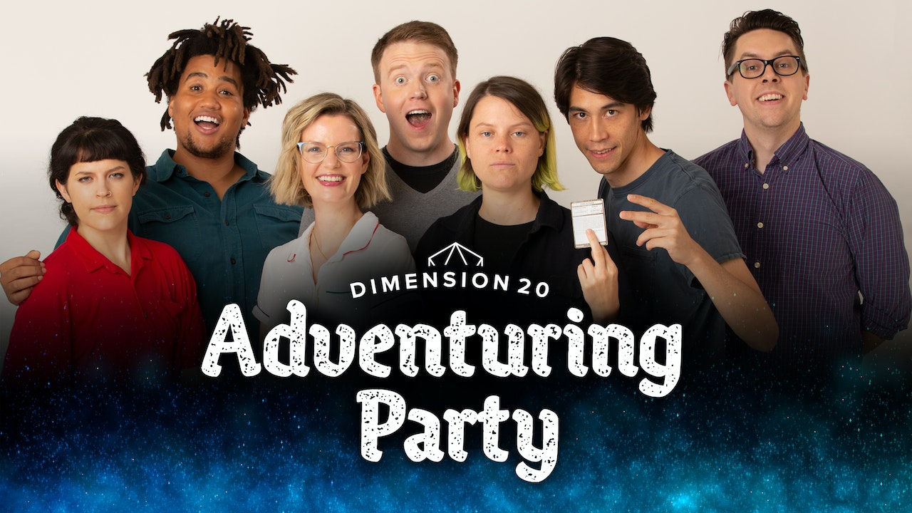 Dimension 20's Adventuring Party