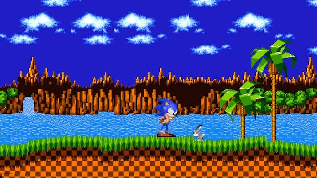 Sonic Frees the Forest Animals