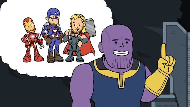 Thanos Stole His Plan From Dr. Robotnik