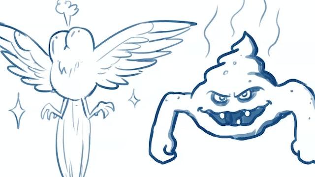 Morning Drawfee - Rejected Pokemon
