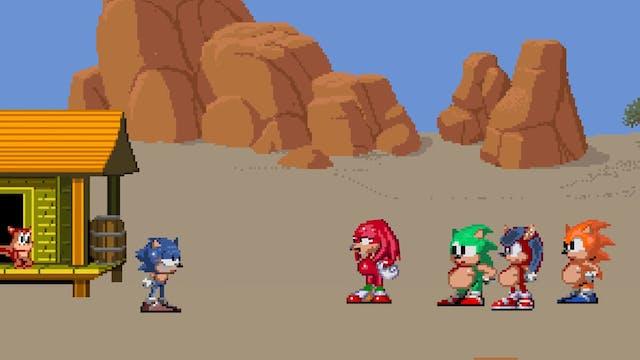 The Dark Future of Sonic the Hedgehog...