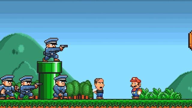 If Super Mario Bros Had a Hostage Neg...