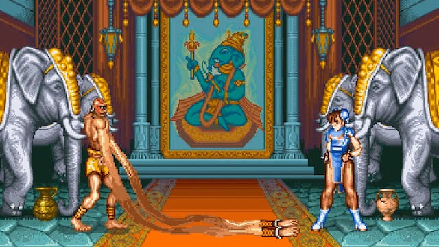 Dhalsim Is Losing His Touch