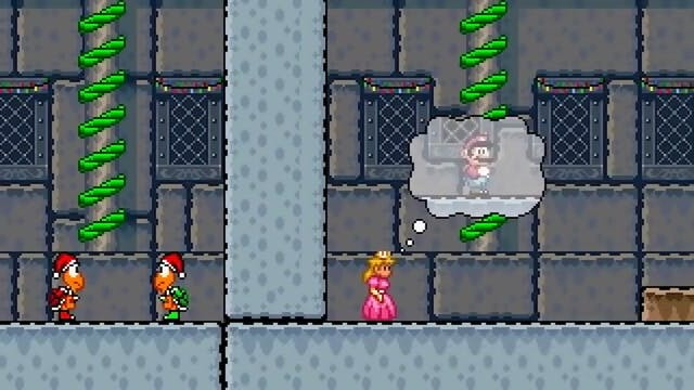 The Night Before Mario's Christmas