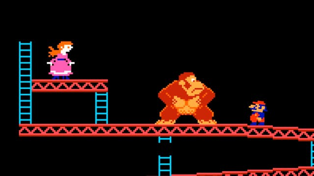 Donkey Kong Doesn't Back Down