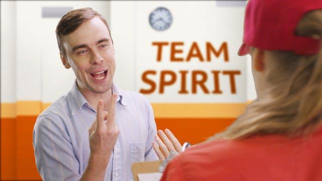 Hitting on Other Employees Like Barte...