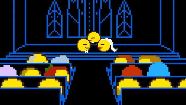 Pac-Man's Pac-Wedding