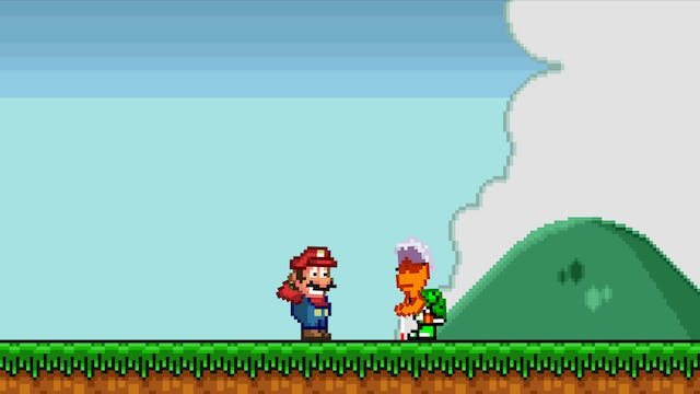 Mario Messed Up