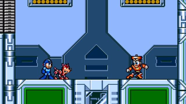 If Mega Man's Rush Acted Like a Regular Dog