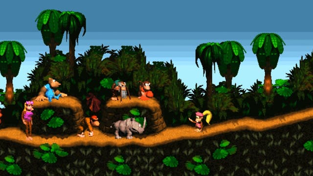 Diddy Kong Country