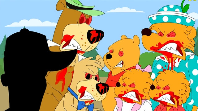 Cartoon Bears Are Still Bears