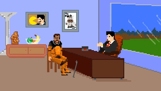 Gordon Freeman Meets with His Agent