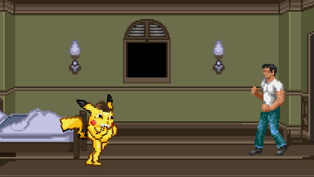 If Paramount Made Detective Pikachu