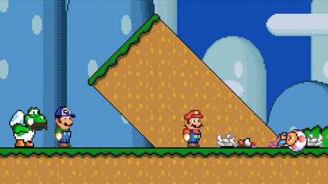 Telltale Games' Super Mario Bros.
