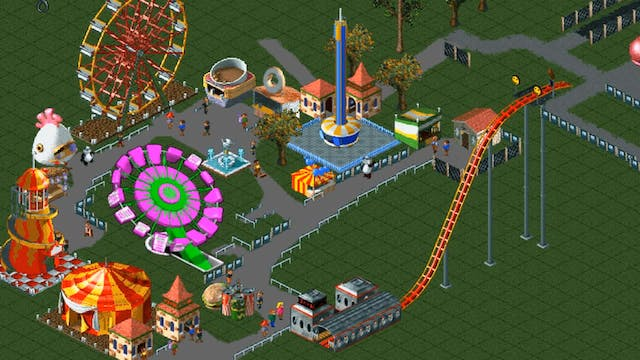 Roller Coaster Tycoon Disaster