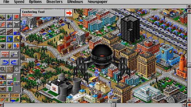 Sim City Monster Hates Your City