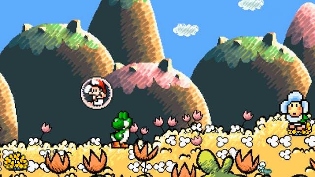 Yoshi Hates Mario