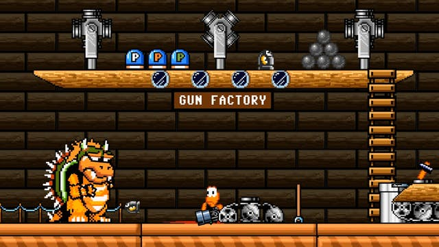 Bowser Wants a Gun