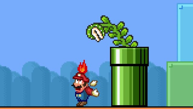 If Mario Piranha Plants Got Smart