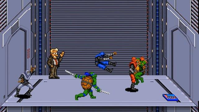 Teenage Mutant Ninja Turtles Elevator...