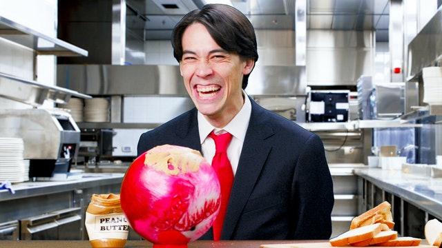Making Peanut Butter Sandwiches With a Bowling Ball